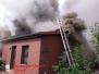 Anforderung DLK - Wohnhausbrand in Barnsen 02.08.2017