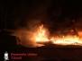 Brennen Kunststoffabfälle auf Firmengelände, Nordallee  01.05.15