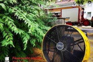 F2 – Rauchentwicklung aus Fenster Uelzen – Hauenriede  27.06.2019