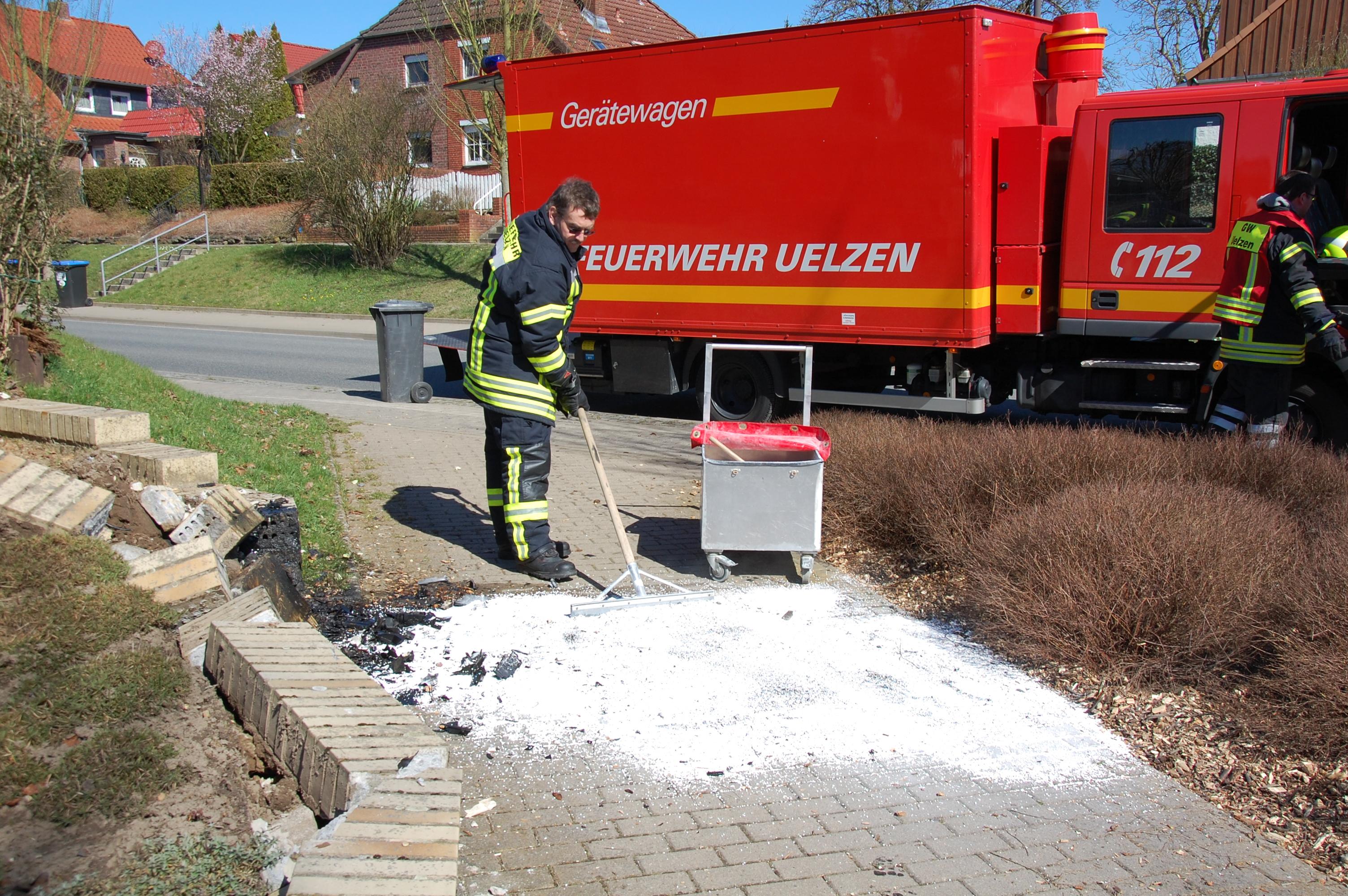 066. Auslaufende Betriebsstoffe nach Verkehrsunfall