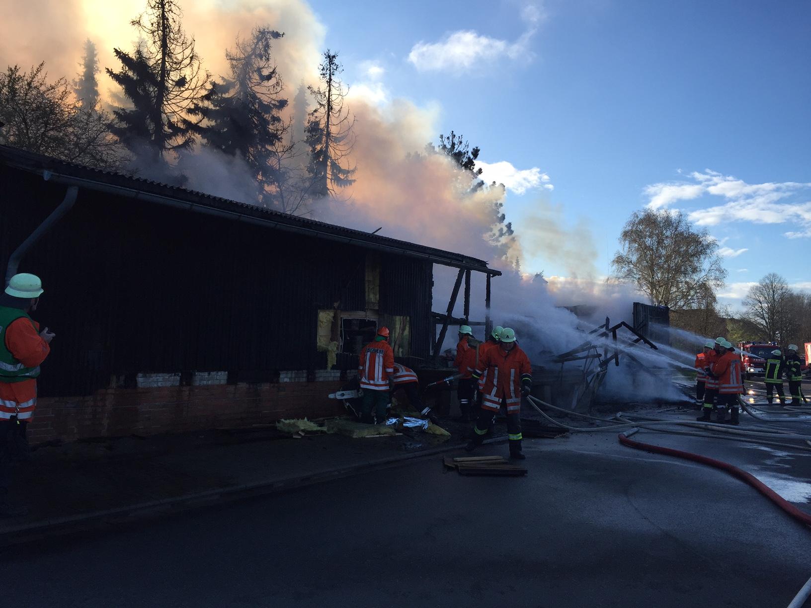 077. Gebäudebrand