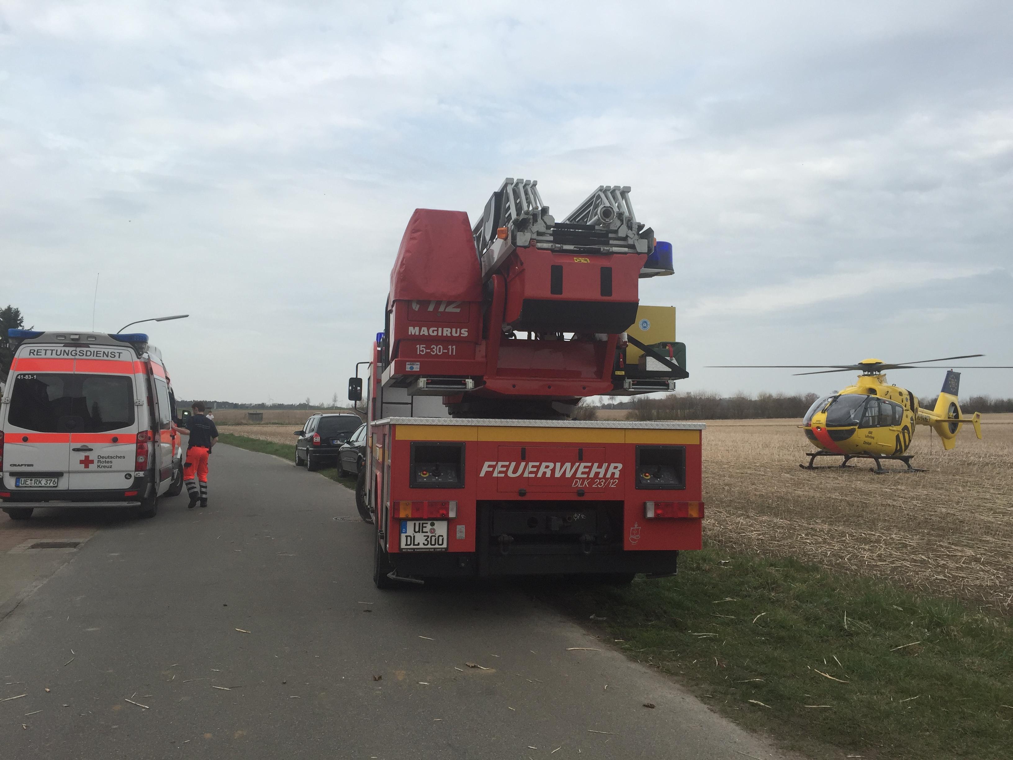 067. Unterstützung Rettungsdienst/ Personenrettung aus 1.OG