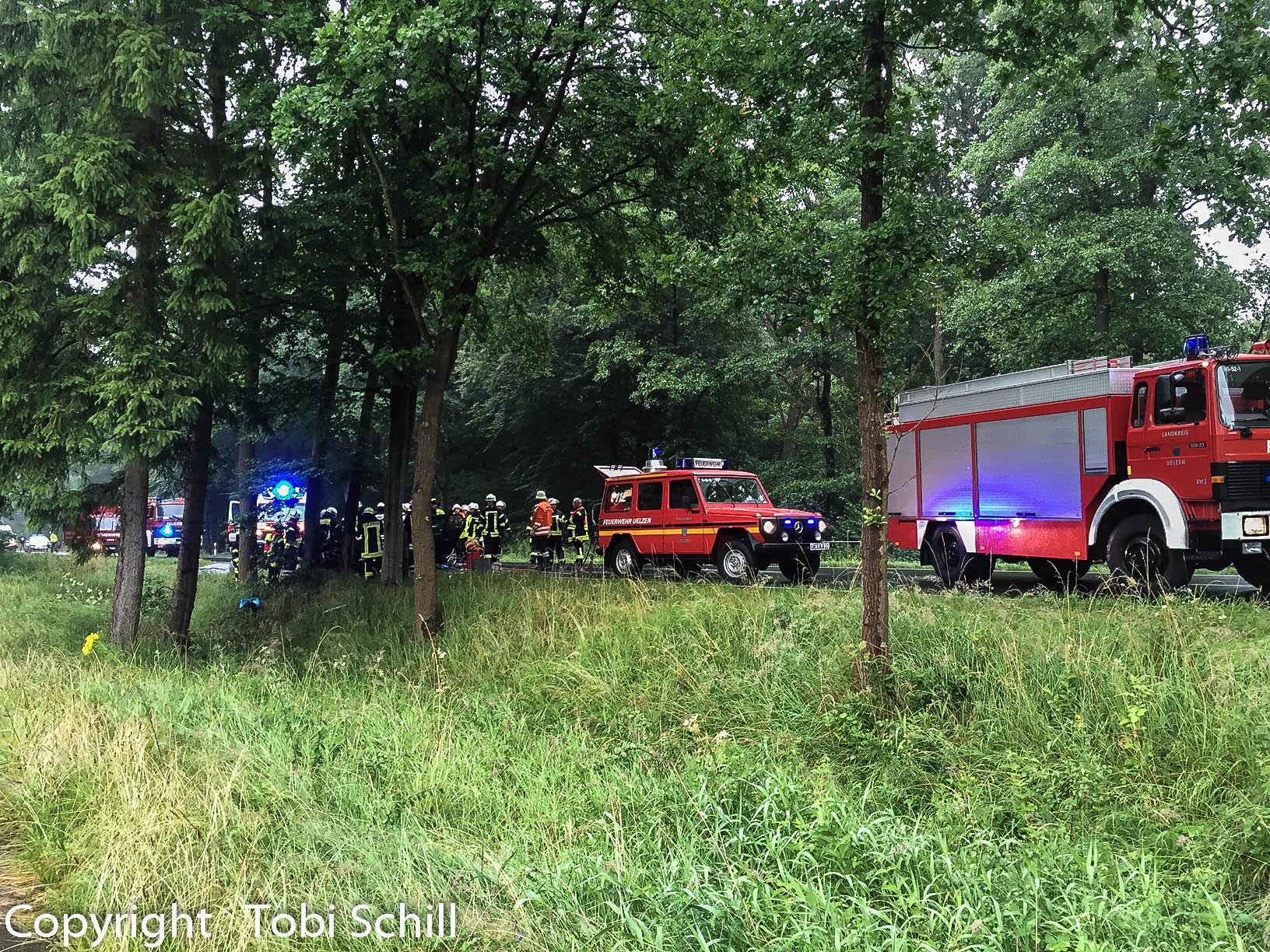 149. Verkehrsunfall / Person eingeklemmt