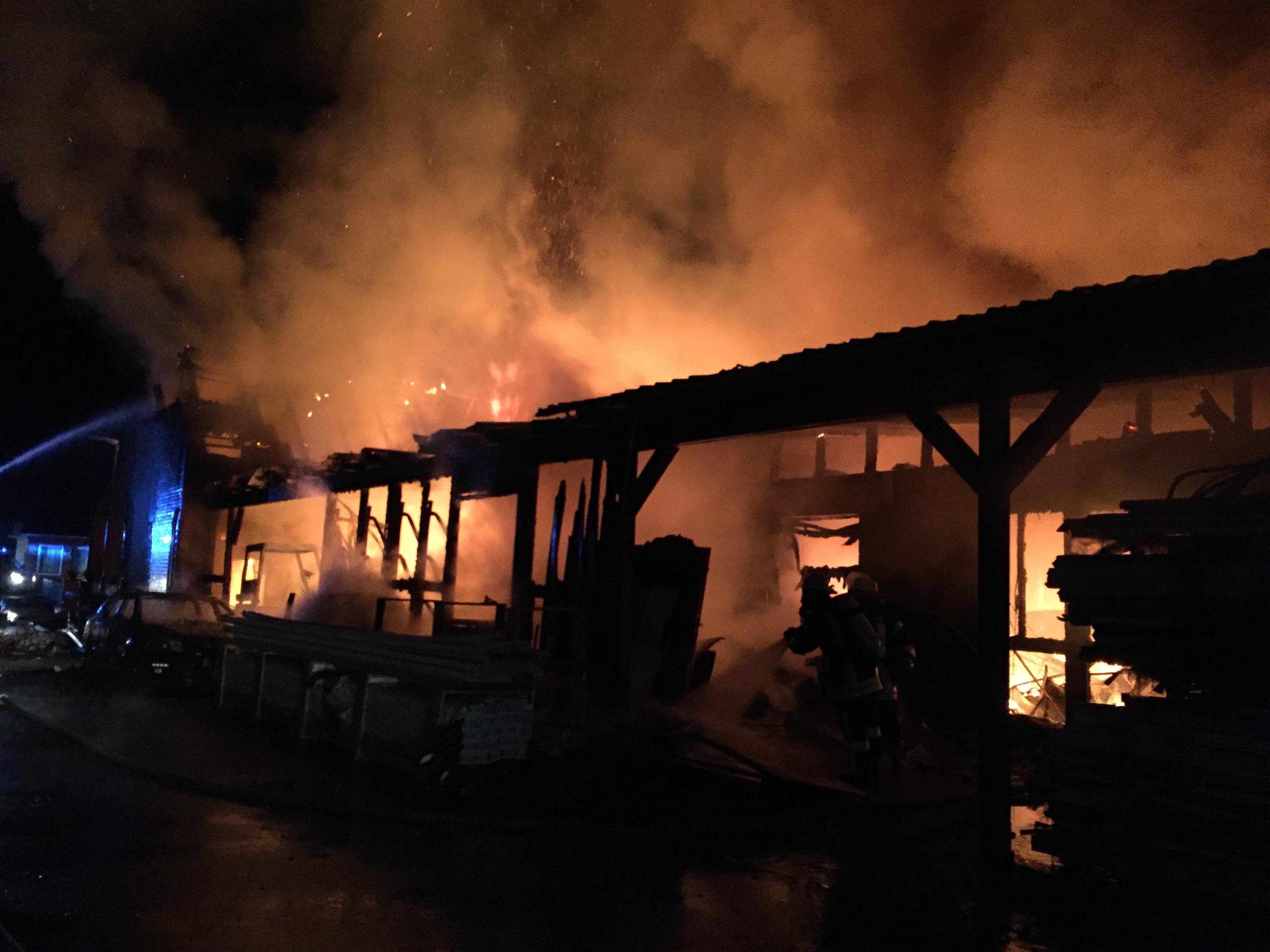 148. F4 Gebäudebrand