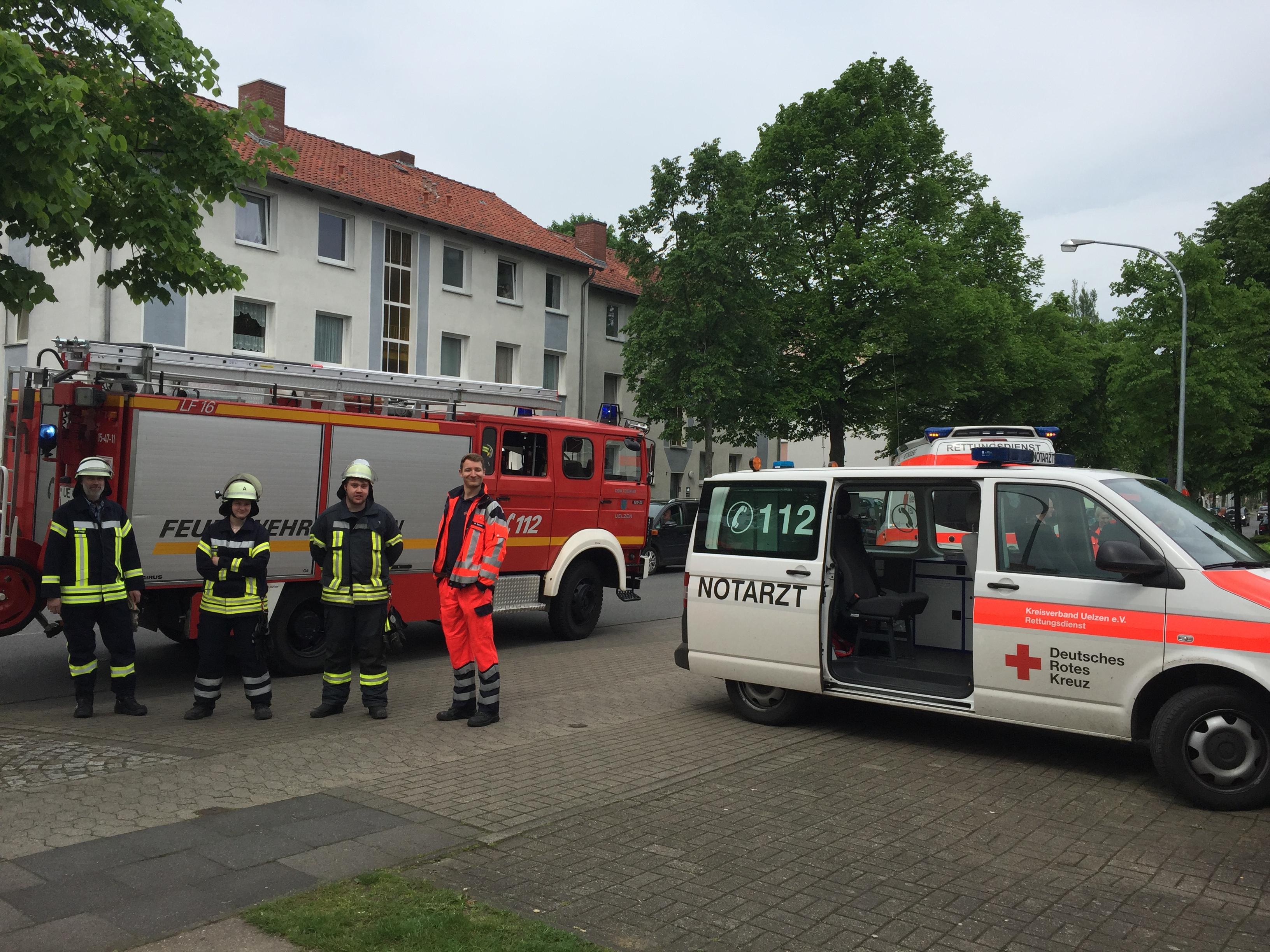 118. F2 - Brandgeruch aus Mehrfamilienhaus