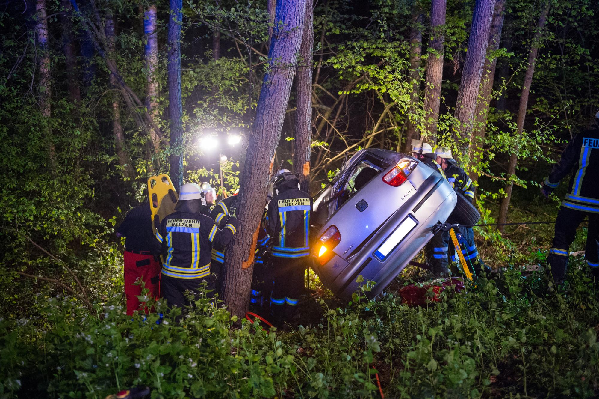 Verkehrsunfall zwischen Hansen und Bohlsen am 07.05.2017