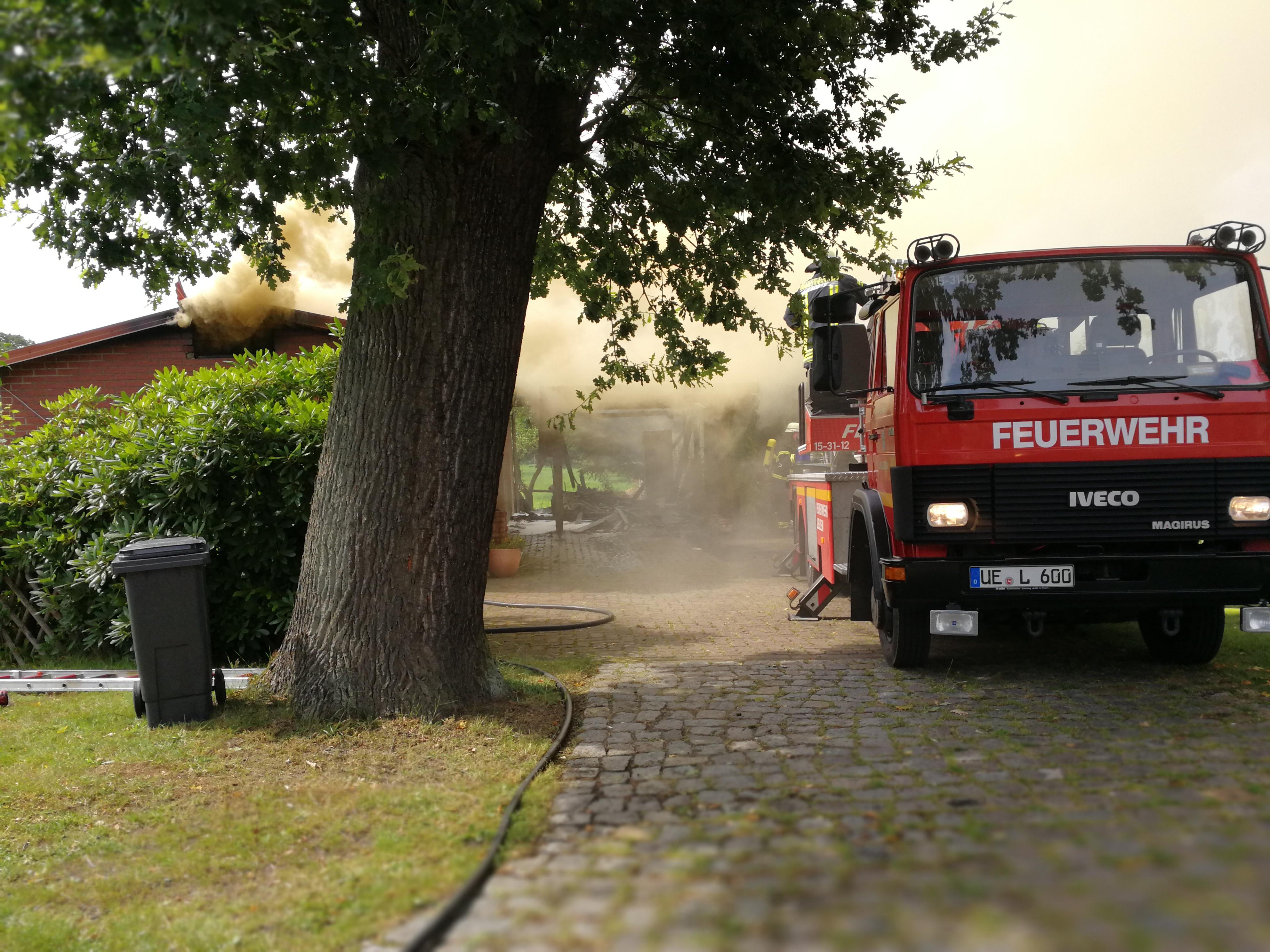 212. Anforderung DLK - Wohnhausbrand