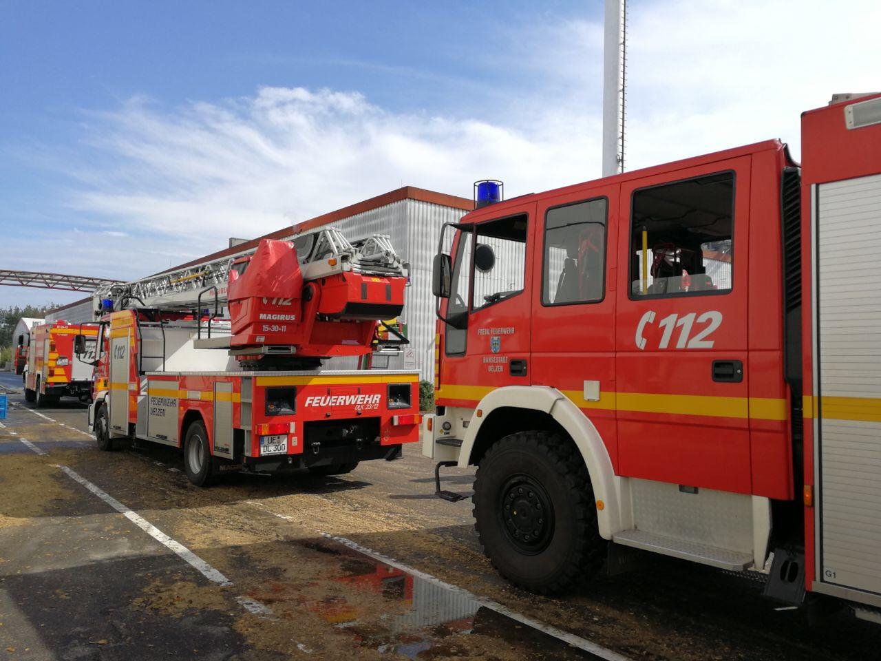 Heiß gelaufene Pumpe ruft Feuerwehr auf den Plan
