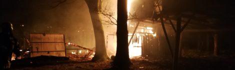 058. WB2 - Unklarer Feuerschein im Wald