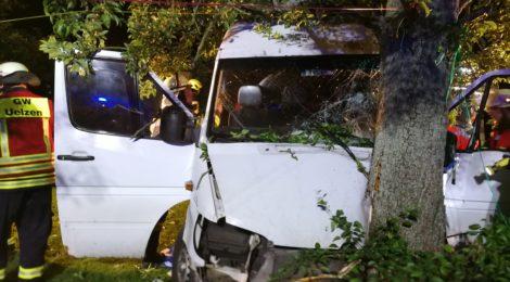079. Verkehrsunfall - Person eingeklemmt
