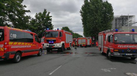 112. F3 - Feuer in 6. OG - Feuer im Dachbereich