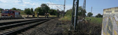 170. WB2 - Bahnböschungsbrand