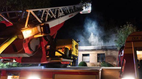 Dachstuhlbrand beschäftigt Uelzener Brandschützer
