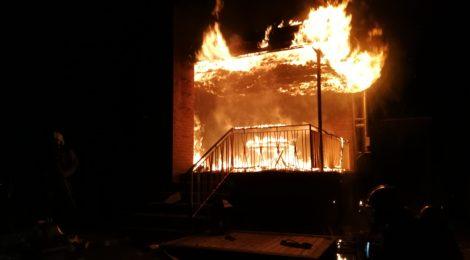 254. F3 - Wohnhausbrand