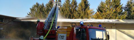 277. F3 - Scheunenbrand