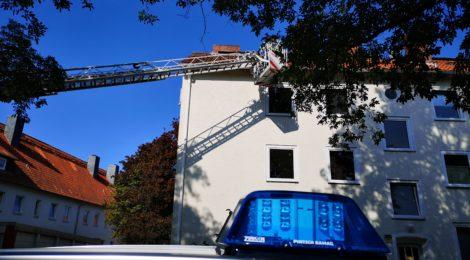 212. Hilfeleistung - - Tierrettung - - Katze auf Dach