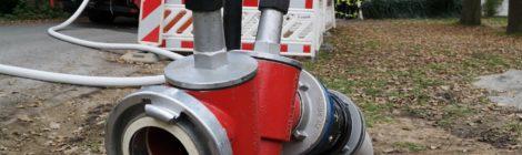 253. GefG1 - Defekte Gasleitung nach Baggerarbeiten