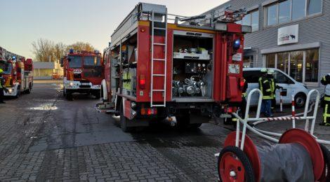 265. Auslösung Brandmeldeanlage - Rauchentwicklung aus Serverraum