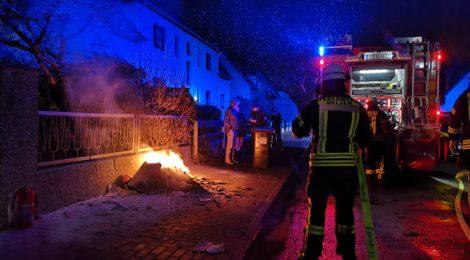 004. B1 - Mülltonnenbrand